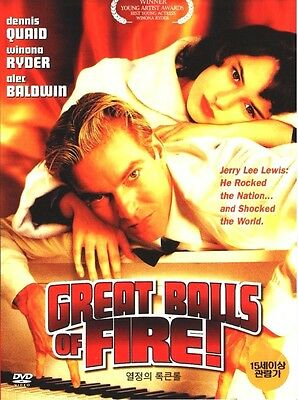 Great Balls of Fire! (1989) DVD - Jim McBride, Alec Baldwin, Winona Ryder