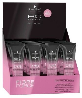 Schwarzkopf Professional Bc Fibre Force Force Infusion - 8 x 15ml
