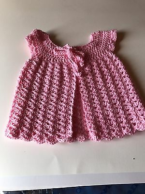 Child's Vest Size 1 To 2yrs Handmade New Crochet Cold Machine Wash