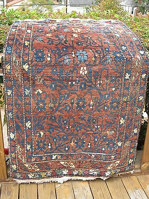 "Antique 1890-1900   Estate  Rug  5'7"" X 3'5"""