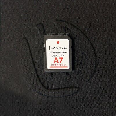 A7 2017 MAP UPDATE Navigation SD CARD SYNC FITS ALL FORD, LINCOLN UPDATES A6