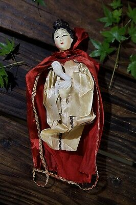 Vintage 1940s Asian Composition Doll Torso Chinese/Japanese