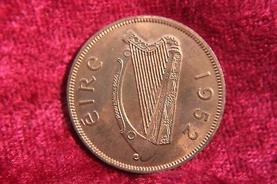 Ireland Penny 1952 Old Coin H