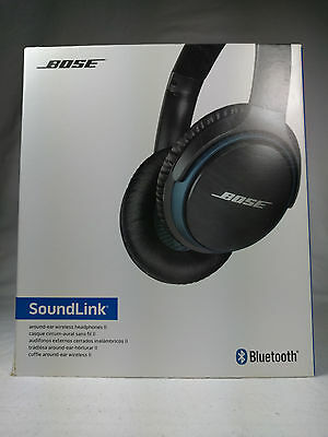Authentic Bose Soundlink Ii Around-Ear Wireless Bluetooth Headphones Black A1535