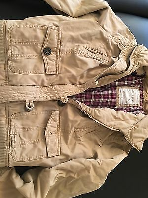 Womens size Large Aeropostale coat winter jacket warm fur juniors