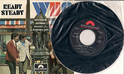 """THE WHO RARE FRANCE PICTURE COVER EP """"Ready Steady Who"""" 4 Track EP TOWNSEND"""