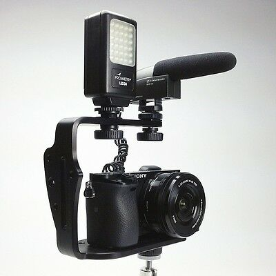 DSLR Camera Video Cage Stabilizer Rig for Canon, Nikon, Sony, Pentax, all. U.S.A