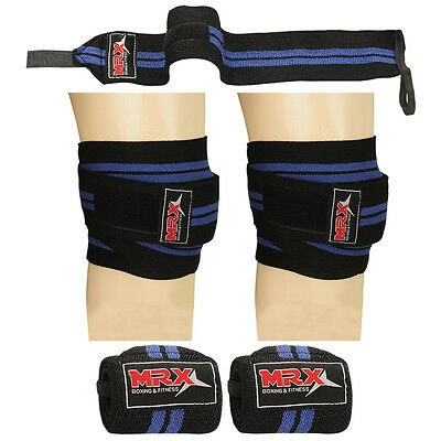 how to put on weight lifting knee straps