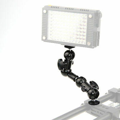 "CAMVATE 360 degree 1/4"" Articulating Magic Arm Mount Adapter Fr Camera Led Light"
