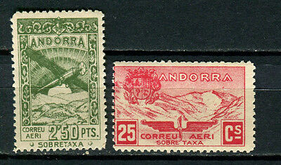 Andorra unlisted Airmail stamps MNH
