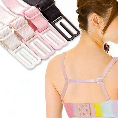 Women Elastic Adjustable Band Bra Converter Clip Cleavage Enhanver Strap