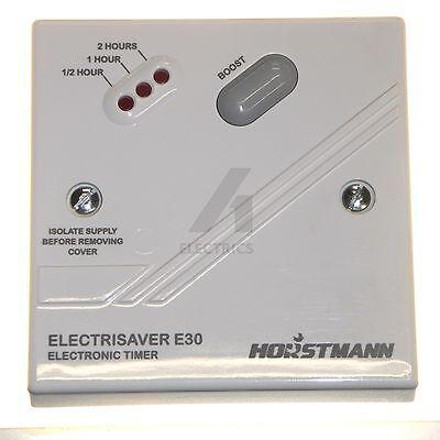 Immersion heater boost timer control energy saving 30 min - 2 Hour Horstmann E30