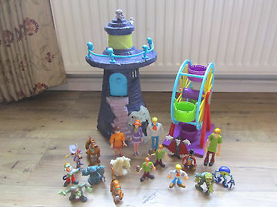 Scooby Doo Play Sets With Lots Of Figures