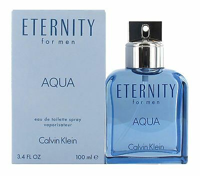Calvin Klein Eternity Aqua 100ml Eau de Toilette for Men - New