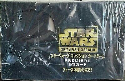 Very Rare Star Wars CCG Decipher Premiere Limited Japanese Sealed Booster Box