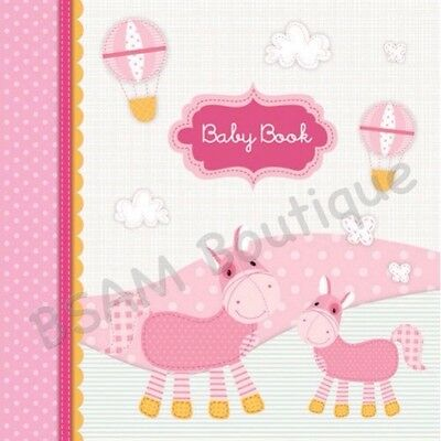 Pepperpot- Once Upon A Time- Girl's Large Photo Album, Baby Album, Keepsake Book