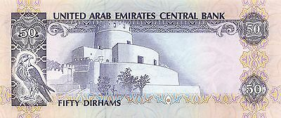 UAE 50 Dirhams ND. 1982  P 9a  Uncirculated Banknote