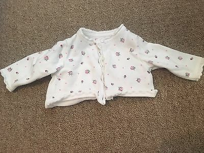 Baby Girl next Cardigan 3-6 Months