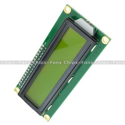 LCD1602 3.3V Yellow Backlight 16*2 Lines Character LCD 1602A for Raspberry PIE