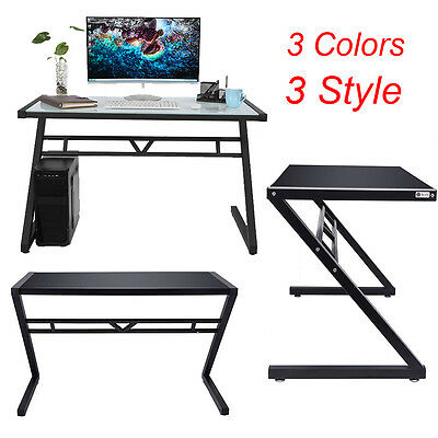 Large Computer Desk Office Home Table WorkStation PC Modern Furniture 3 Colors