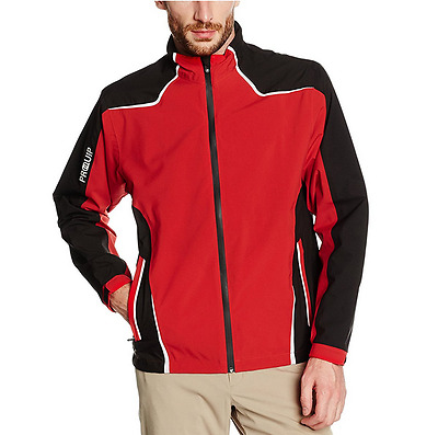ProQuip Mens Tourflex 360 Jacket - Red - Waterproof - Pro Quip - Clothing - Golf