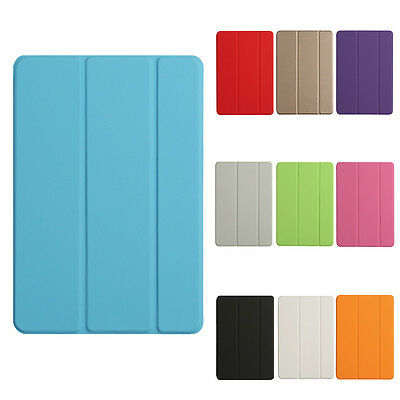 Magnetic Front Smart Hard Back Case Stand For Apple iPad 2/3/4 mini Air 2 Pro