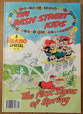 Vintage The Bash Street Kids Beano Special Comic no. 28 1991