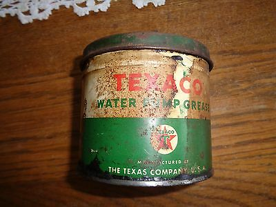 Vintage Texaco Water Pump Grease Can, Fairly Rare, Check It Out !!