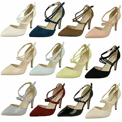 Wholesale Ladies Pointed Court Shoes 14 Pairs Sizes 3-8  F10551