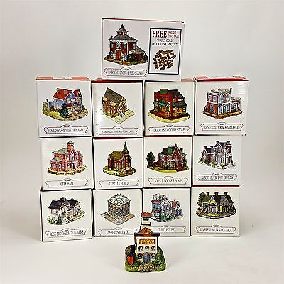 Americana Collection Liberty Falls 14pc Village Cottage Stable Brewery School