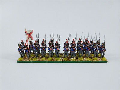 15mm Napoleonic painted Spain Line Infantry Marching (1811 Uniform) Gsp74