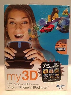 Hasbro white My 3D Eye Popping 3D Viewer for iPhone and iPod touch Free Apps
