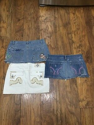 Lot Of 3 Skirts Size 5 Labuan Beach, Hollister, And Twenty one