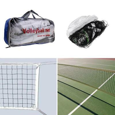 Standard Official Size Outdoor Indoor Beach Volleyball Net with Storage Bag