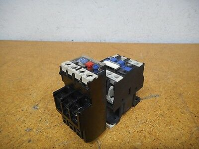Telemecanique LC1-D0910 Contactor With 120V 60Hz Coil & LR2-D1314 Overload Relay