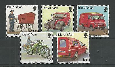 I.o.m 2003 Post Office Vehicles Sg,1056-1060 Um/m N/h Lot R456