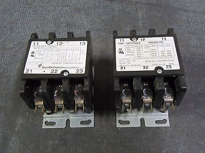 (1) Tyco / Products Unlimited Contactor 60A 600V 3 Ph 120V Coil # 3100-30T1728Vd