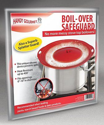 Handy Gourmet Boil-Over Safeguard, Fits Openings 6 to 10 in Diameter
