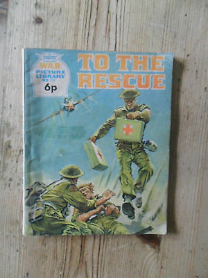 To the Rescue,War Picture Library,no.774.6p.1972.