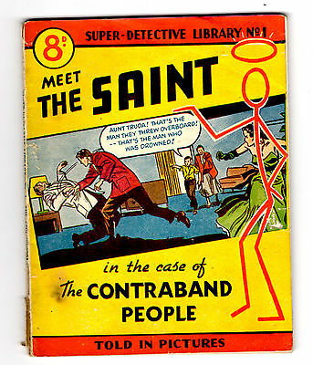 Super Detective Library Number 1, Meet the Saint, Original Issue