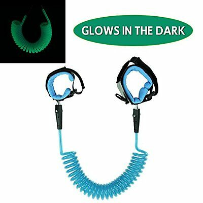 JINSEY Glows In The Dark Safety Child Anti Lost Wrist Link Harness Strap Rope