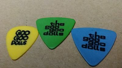 Goo Goo Dolls Guitar Picks!   *Set of 3*