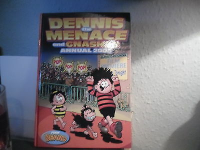 Dennis The Menace And Gnasher Annual 2008,excellent Condition