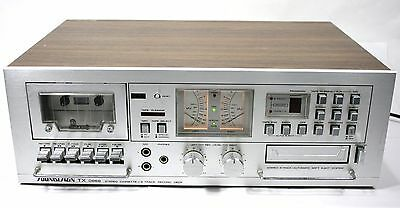 Soundesign TX 0868 Dual Deck - Stereo Cassette & 8 Track Play / Record - Vintage