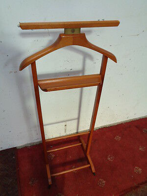 Vintage brevettato  wood Versatile Valet Stand - Butlers Stand