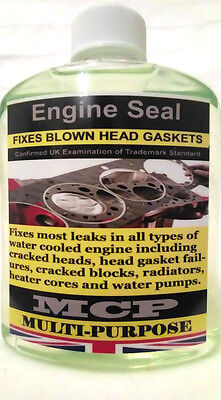 ENGINE SEAL HEAD GASKET REPAIR, MCP,,PREMIUM QUALITY INSTANT SEALANT, 2x500ML