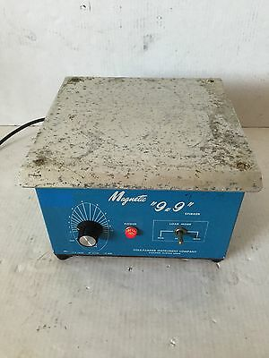 "Cole-Parmer 4815 9""x9"" 3-Load Speed Laboratory Magnetic Stirrer Mixer"