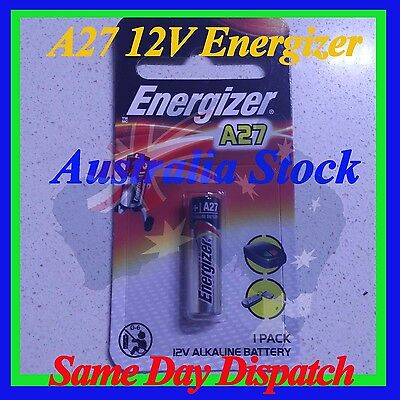 1/2/3/4/5 12V A27 Energizer Battery AU STOCK A27BP Free express post if u buy 3+