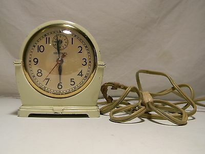 Vintage Electric E Ingraham Co Sentinel Art Deco Clock for  Parts or Repair