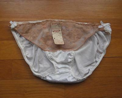 VTG Frederick's of Hollywood Bikini Panties Underwear Nylon Lace L NOS Tags